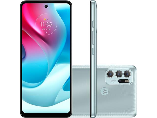 "Smartphone Motorola Moto G60S 4G 128GB 6.8"" Quad-Câm 64+8+5+2MP Verde"