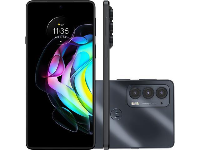 "Smartphone Motorola Moto Edge20 5G 128GB 6.7"" 8GB RAM 108+16+8MP Preto"