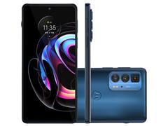 "Smartphone Motorola Moto Edge20 PRO 5G 256GB 6.7"" Câm 108+16+8MP Azul"