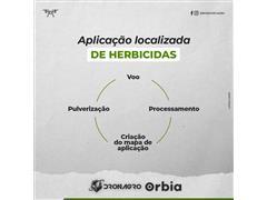 Aplicação localizada de herbicidas - Dronagro - 1