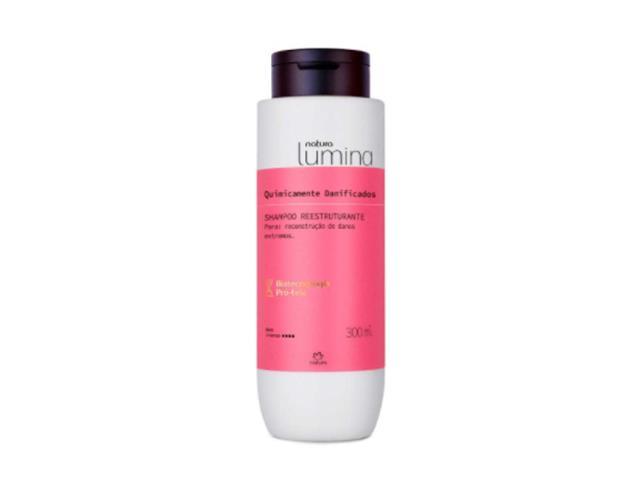 Shampoo Reestruturante Quimicamente Danificados Natura Lumina 300ML