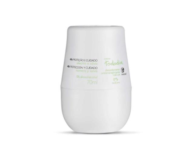 Desodorante Roll On Natura TodoDia Alecrim e Sálvia 70ML