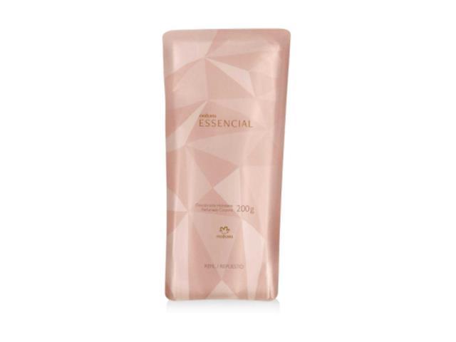 Refil Desodorante Hidratante Corporal Perfumado Natura Essencial 200G