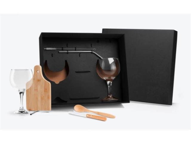 Kit para Gin Tônica com 8 Peças