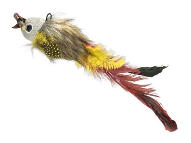 Brinquedo Multilaser PET PP229 Feather Fish Amarelo