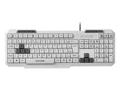 Teclado Gamer Slim Multimidia Multilaser TC267 GK-100 Branco