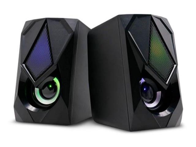 Caixa de Som 2.0 Gamer Multilaser SP951 12W RMS RGB