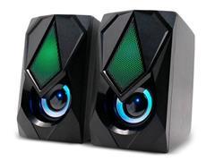 Caixa de Som 2.0 Gamer Multilaser SP951 12W RMS RGB - 1