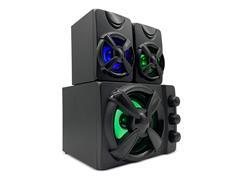 Caixa de Som 2.1 Gamer Multilaser SP952 30W RMS RGB - 1