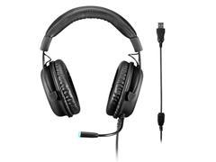 Headset Gamer Warrior PH258 Volker USB 7.1 3D Surround Sound LED Azul - 2