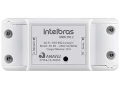 Controlador Smart Wi-Fi para ambientes Intelbras EWS 201 E Branco