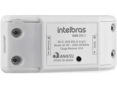 Controlador Smart Wi-Fi para ambientes Intelbras EWS 201 E Branco - 1