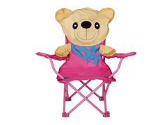 Cadeira Infantil Dobrável Sanfonada MOR Ursinho