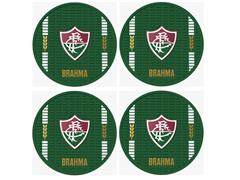 Conjunto de Porta Copos Brahma Fluminense 4 Bolachas