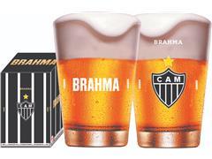 Copo Caldereta para Cerveja Brahma Atlético 350ML