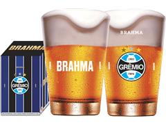 Copo Caldereta para Cerveja Brahma Grêmio 350ML