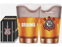 Copo Caldereta para Cerveja Brahma Corinthians 350ML - 0