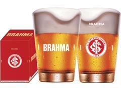 Copo Caldereta para Cerveja Brahma Internacional 350ML