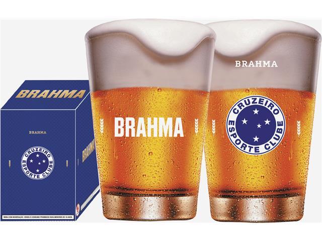 Copo Caldereta para Cerveja Brahma Cruzeiro 350ML