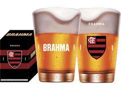 Copo Caldereta para Cerveja Brahma Flamengo 350ML