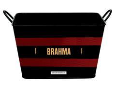 Balde para Gelo em Alumínio Retangular 8 Litros Brahma Flamengo - 1