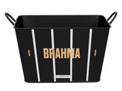 Balde para Gelo em Alumínio Retangular 8 Litros Brahma Atlético - 1
