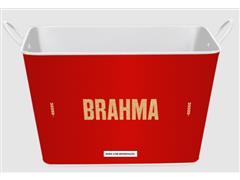 Balde para Gelo em Alumínio Retangular 8 Litros Brahma Internacional - 1