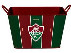 Balde para Gelo em Alumínio Retangular 8 Litros Brahma Fluminense - 0