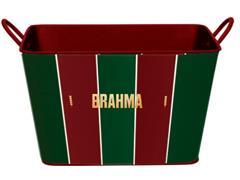 Balde para Gelo em Alumínio Retangular 8 Litros Brahma Fluminense - 1