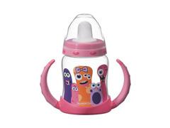 Copo infantil Tramontina Monster Baby Rosa