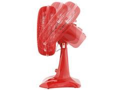 Ventilador de Mesa Britânia Protect 30 Six 55W Vermelho - 3