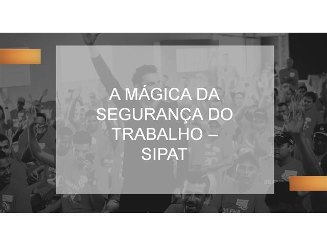 Palestras SIPAT - Vitor Hugo