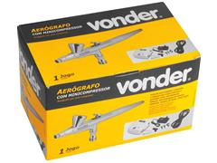 Aerografo Vonder com Mini Compressor - 4