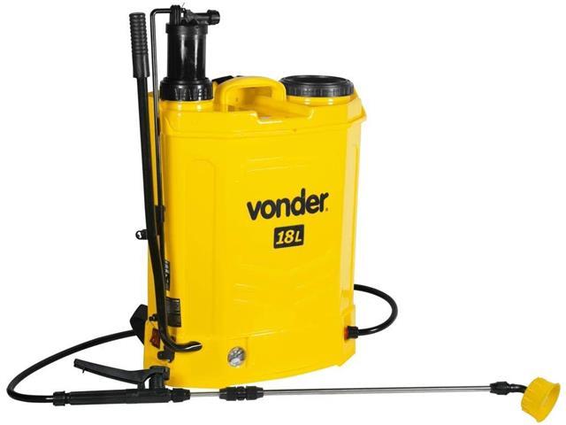Pulverizador Agrícola Vonder Manual ou Bateria 18 Litros