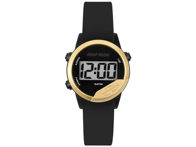 Relógio Unissex Digital Mormaii Mude Dourado MO4100AD/8D