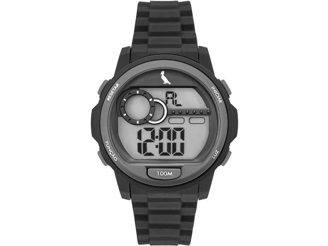 Relógio Infantil Digital Reserva Grafite RE14627/8P