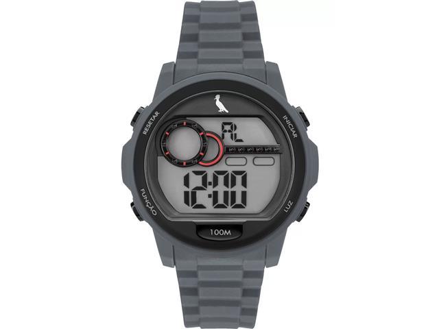 Relógio Masculino Digital Reserva Preto RE14627/8R