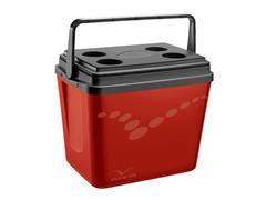 Caixa Térmica Invicta Pop Vermelho Velvet 34 Litros - 0