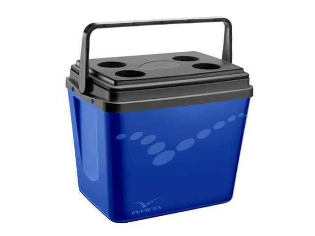 Caixa Térmica Invicta Pop Incess Blue 34 Litros