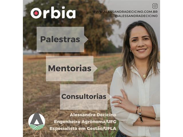 Consultoria, Palestra e Soluções no Agro - Alessandra Decicino/AG Agro