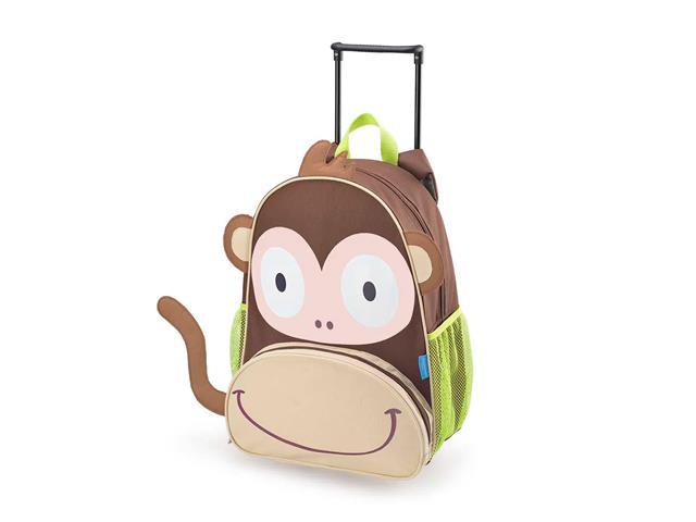 Mochila Infantil com Rodinhas Multikids Baby BB276 Macaco