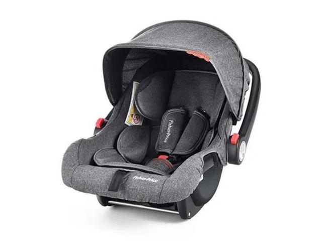 Cadeirinha para Auto Bebê Conforto Fisher Price BB652 Nano 13Kg Preto