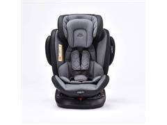 Cadeirinha para Auto Multikids Baby BB625 Softfix 360 Cinza - 1