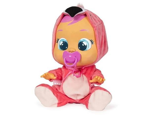Boneca Cry Babies Multikids BR121 Flamy com Chupeta