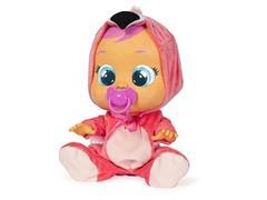 Boneca Cry Babies Multikids BR121 Flamy com Chupeta - 0