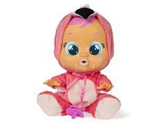 Boneca Cry Babies Multikids BR121 Flamy com Chupeta - 1