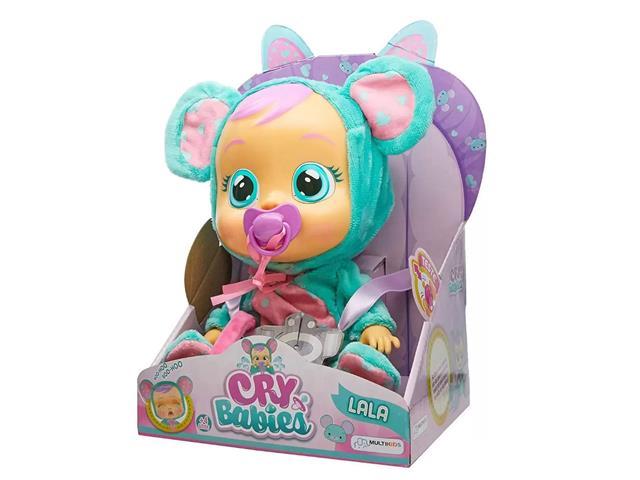 Boneca Cry Babies Multikids BR527 Lala com Chupeta