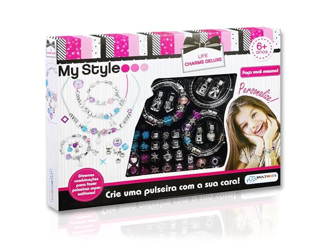 Pulseiras Multikids BR1276 My Style Life Charms Deluxe