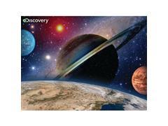 Quebra Cabeça Super 3D Multikids BR1057 Modelo Planetas com 100 Peças - 1