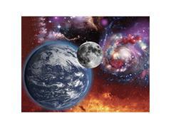 Quebra Cabeça Super 3D Multikids BR1062 Universo com 500 Peças - 1